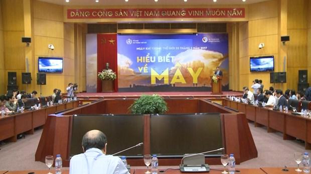 越南举行集会响应2017年世界气象日 hinh anh 1