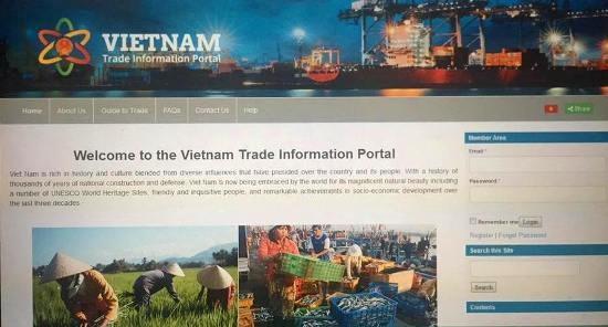 越南贸易信息门户网站正式上线运行 hinh anh 1