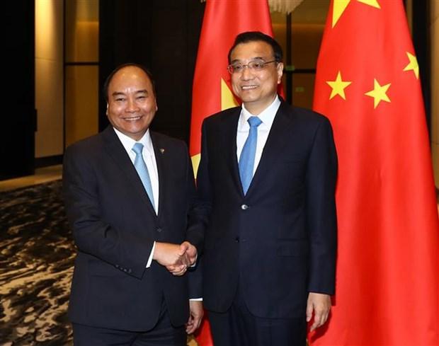 政府总理阮春福出席第31届东盟峰会系列活动 (组图) hinh anh 8
