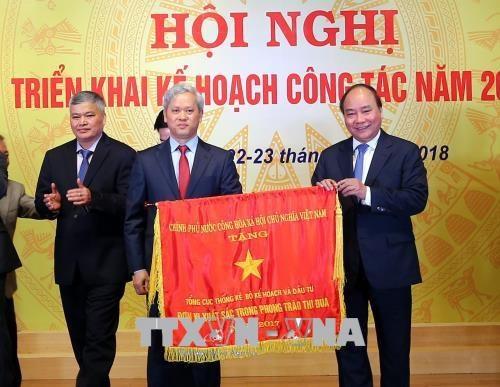 越南政府总理:统计部门应提高预测能力 hinh anh 1