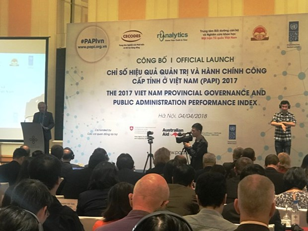 2017年越南省级公共管理和行政效益指数对外公布 hinh anh 1