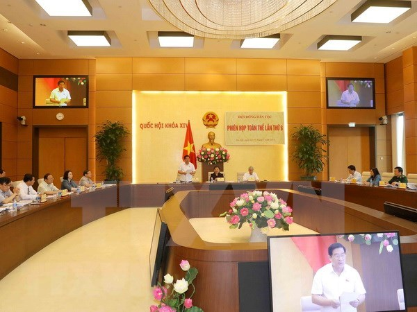 越南国会民族委员会第6次全体会议落下帷幕 hinh anh 1