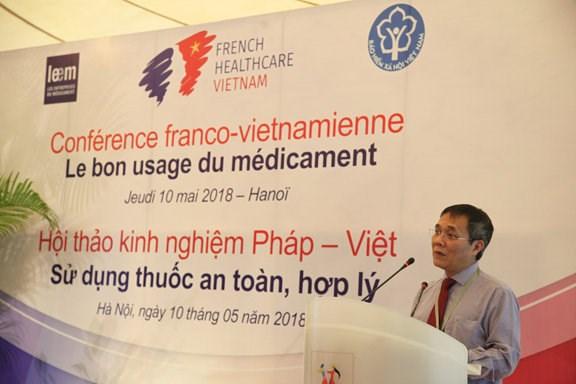 法国向越南分享药物合理使用相关经验 hinh anh 2