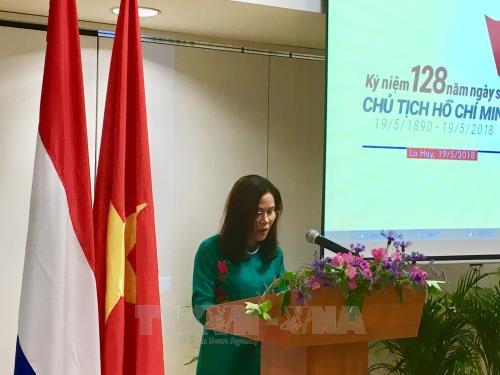 胡志明主席诞辰128周年纪念活动在荷兰和加拿大举行 hinh anh 1