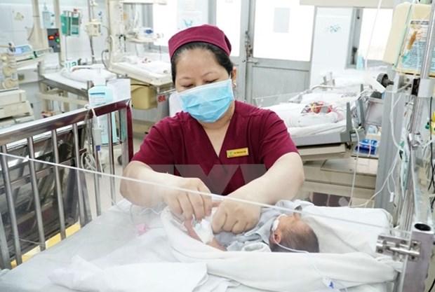 越南卫生部2018年卫生—人口目标计划启动 hinh anh 1