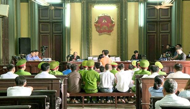胡志明市针对人民政府的恐怖案件二审公开开庭 hinh anh 2