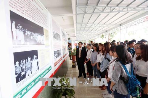 """""""胡志明主席与爱国竞赛运动""""展览会在岘港市开展 hinh anh 2"""
