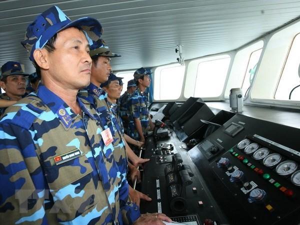 第十四届国会第五次会议:国会代表普遍赞同颁发《越南海警法》 hinh anh 1