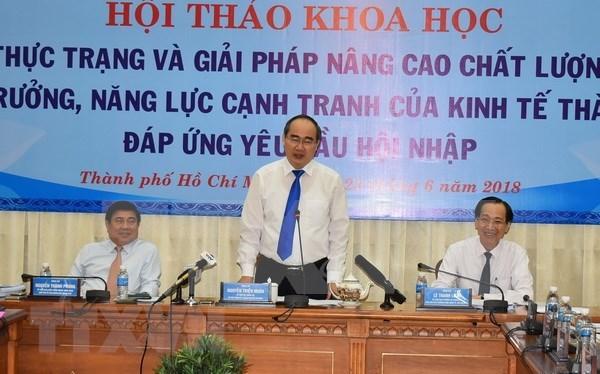 提高胡志明市经济增长和竞争力的现状与对策 hinh anh 1