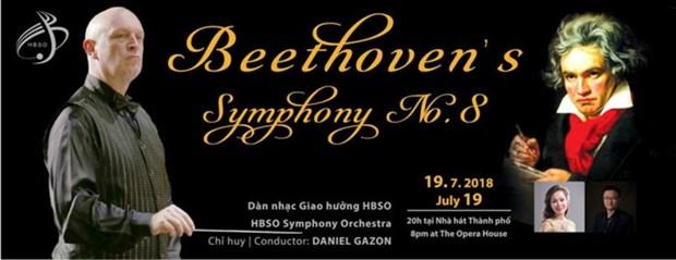 庆祝越南与比利时建交45周年的音乐会在胡志明市举行 hinh anh 1