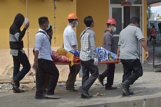 印尼西努沙登加拉省龙目岛地震后的惨状(组图) hinh anh 11