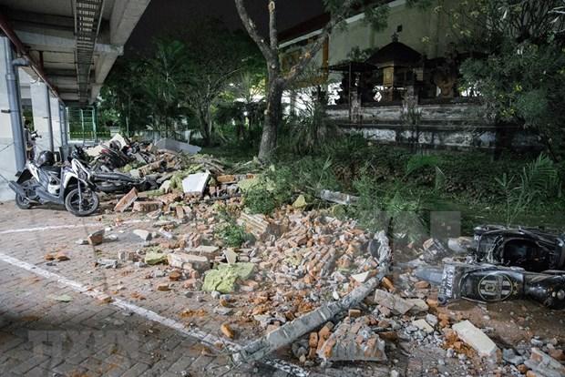 印尼西努沙登加拉省龙目岛地震后的惨状(组图) hinh anh 3