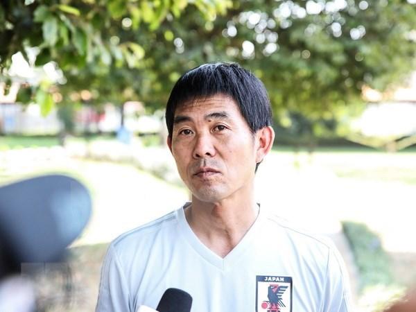 ASIAD 2018:日本男足教练:日本不一定会取胜越南 hinh anh 1