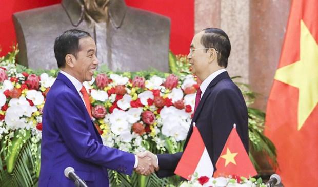 越南与印度尼西亚加强渔业管理合作 hinh anh 1