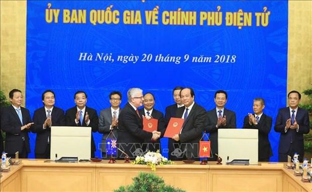 阮春福总理兼任越南国家电子政务委员会主席一职 hinh anh 2