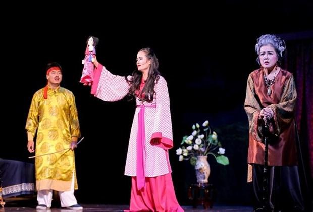 丽玉剧团在胡志明市搭台演出 hinh anh 1