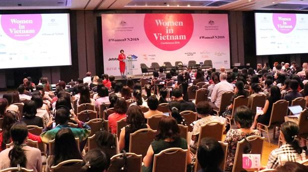 越南妇女节:致力于妇女的平等和健康 hinh anh 1