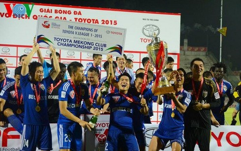 越南平阳Becamex跻身2015年亚洲最成功俱乐部之列 hinh anh 1
