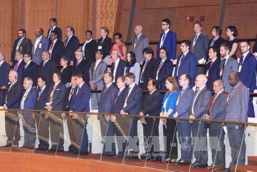越南国会首次普选70周年纪念典礼在河内隆重举行 hinh anh 2