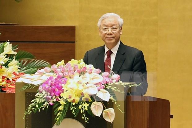 越南国会首次普选70周年纪念典礼在河内隆重举行 hinh anh 3