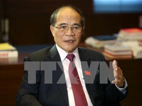 越南国会主席阮生雄:首次普选的成功取决于民族的智慧和力量 hinh anh 1