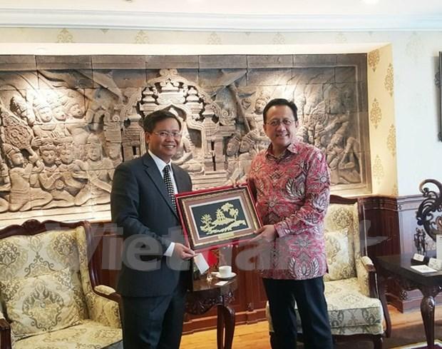 印尼地方代表理事会主席:印尼将印越关系摆在地区外交政策的优先地位 hinh anh 1