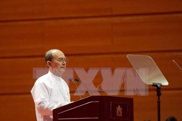 缅甸联邦和平会议在内比都召开 hinh anh 1