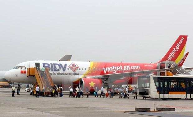 越捷航空公司推出40万张起价0越盾的机票 hinh anh 1