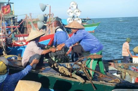 中国船只攻击越南渔船 越南渔业工会对此表示强烈反对 hinh anh 1