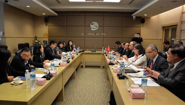 越泰加强在打击非法捕捞方面的合作 hinh anh 1