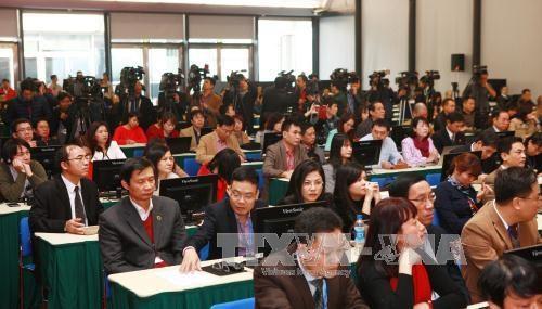 越南共产党第十二次全国代表大会新闻发布会在河内举行 hinh anh 3