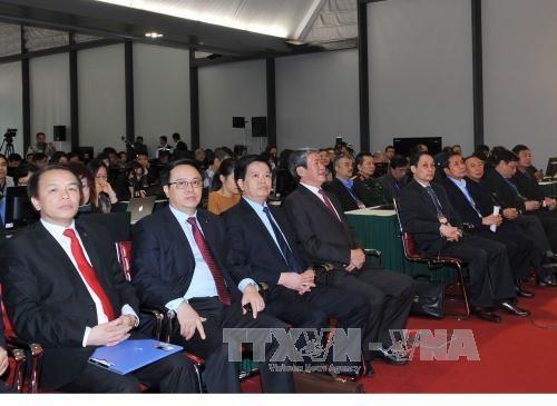 越南共产党第十二次全国代表大会新闻发布会在河内举行 hinh anh 2