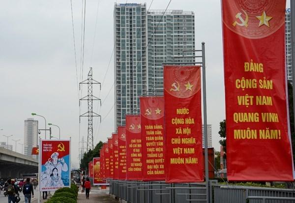 越南共产党第十二次代表大会召开在即 各项筹备工作就绪 hinh anh 1