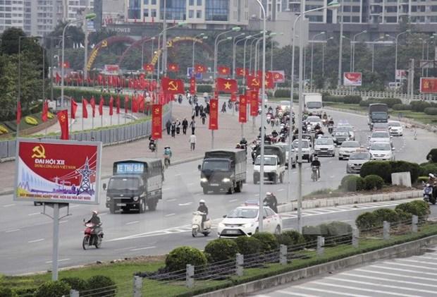 越南共产党第十二次代表大会召开在即 各项筹备工作就绪 hinh anh 2
