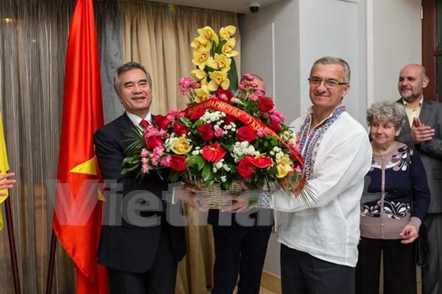乌越友好协会对巩固和加强两国友好合作关系作出巨大贡献 hinh anh 1
