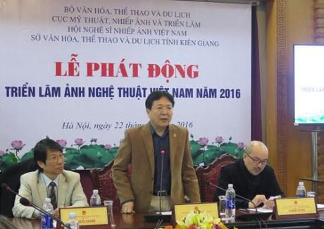 2016年越南艺术摄影比赛正式启动 hinh anh 1
