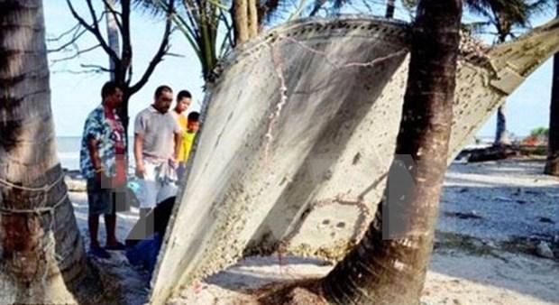 泰国发现疑似MH370残骸 hinh anh 1