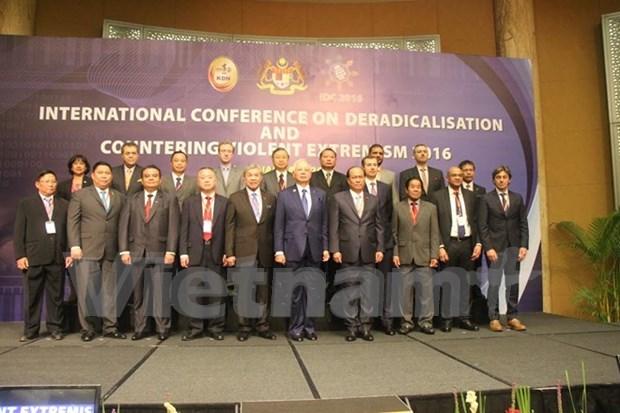 越南愿同国际社会合作打击暴力极端主义 hinh anh 1