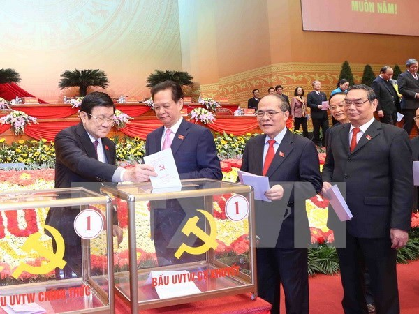 越南共产党第十二次全国代表大会第六天的新闻公报 hinh anh 1