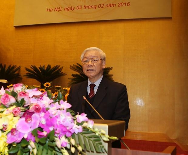 越共中央政治局召开会议部署新一届国会和各级人民议会换届选举工作 hinh anh 2