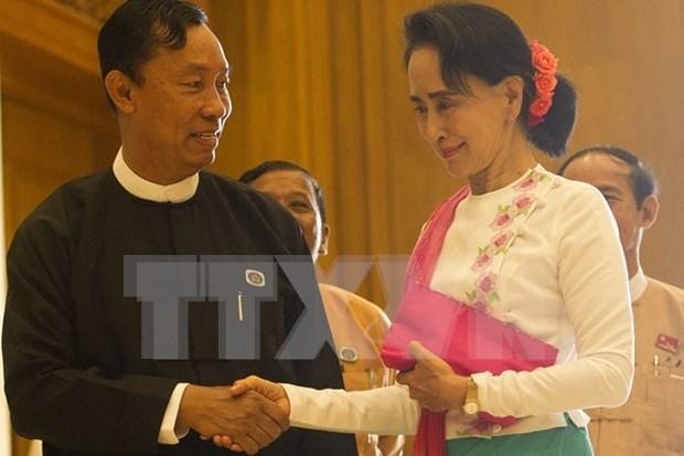 缅甸新议会人民院举行首次会议 hinh anh 1