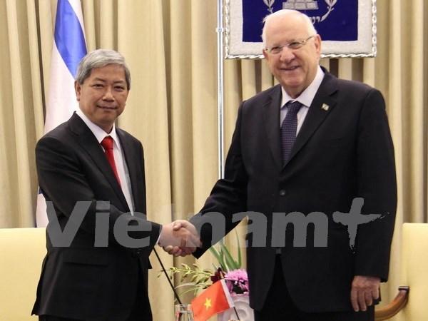 以色列愿促进同越南的关系 hinh anh 1