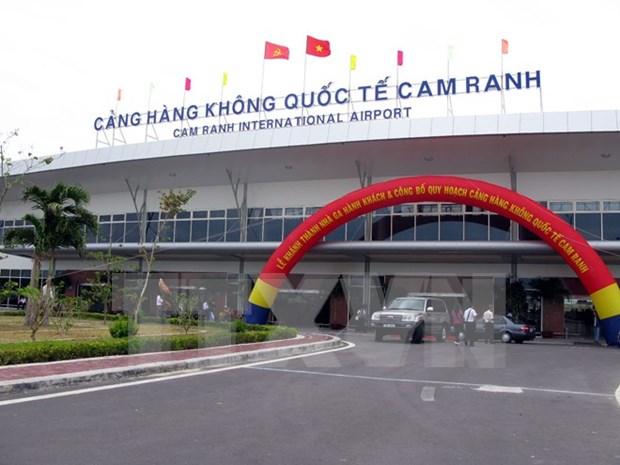 庆和省金兰机场接待航班182班次 hinh anh 1