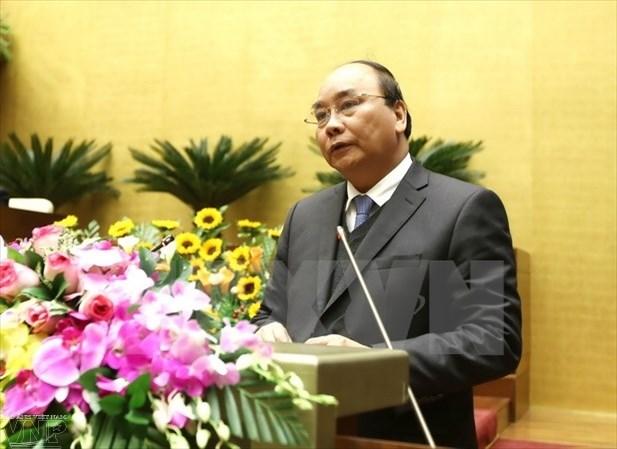 阮春福副总理走访海阳省拜年 hinh anh 1
