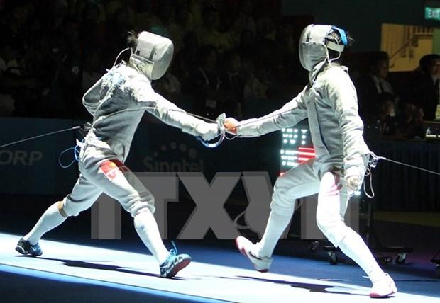 越南击剑手武成安赴波兰参加奥运参赛资格积分赛 hinh anh 1
