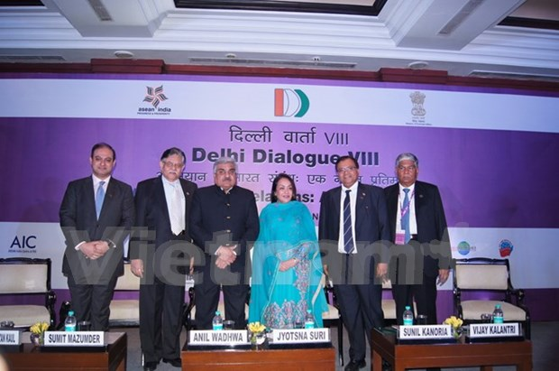 第八届东盟与印度对话会在新德里举行 hinh anh 1