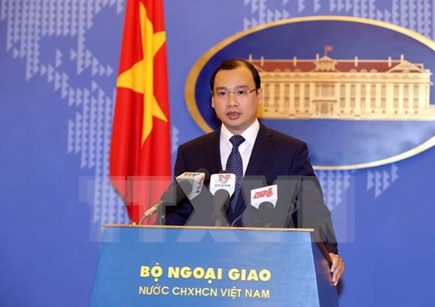 越南呼吁有关各方为维护东海和平稳定采取负责任的建设性行动 hinh anh 1