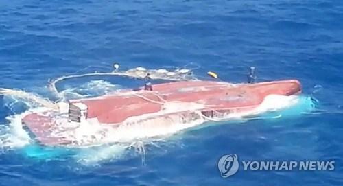 越南六名船员在韩国失踪 hinh anh 1
