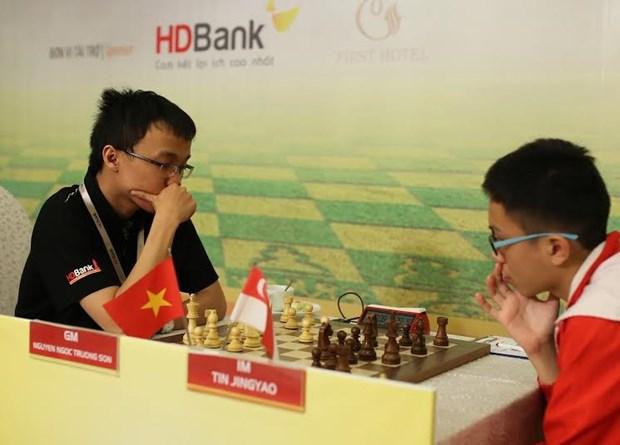 """2016年""""胡志明市开发银行杯""""国际象棋锦标赛在胡志明市举行 hinh anh 2"""