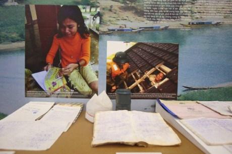 与自然灾害共处--越南女子毅力的故事 hinh anh 1